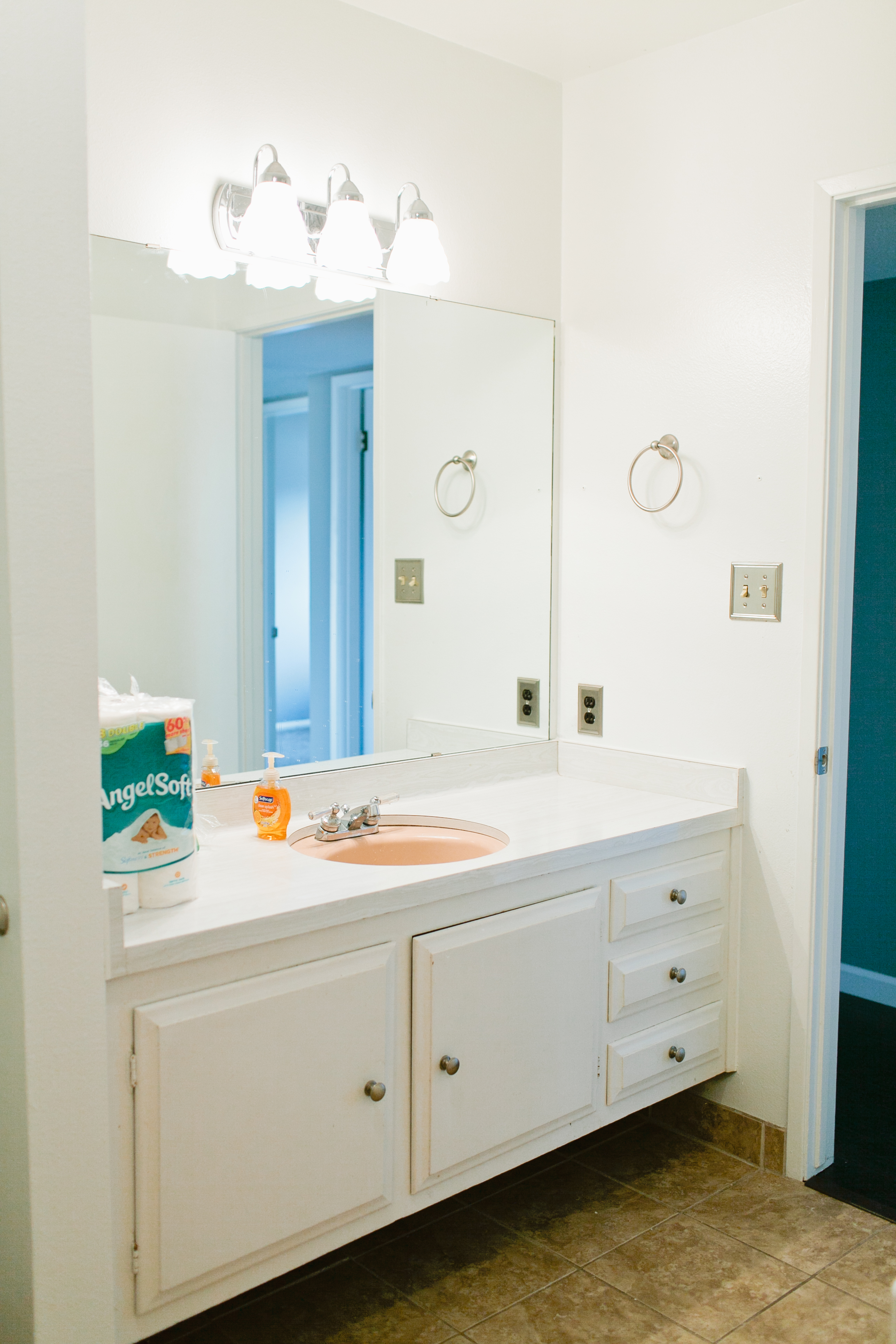 Our Guest Bathroom Renovation (Finally) – Day One (and two)