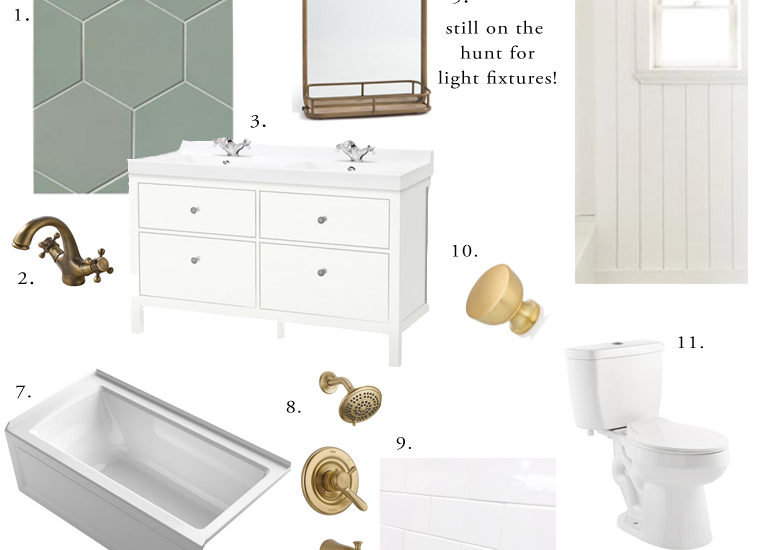 Guest Bathroom Renovation – The Plan